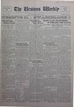 The Ursinus Weekly, November 14, 1927 by Charles H. Engle and George Leslie Omwake