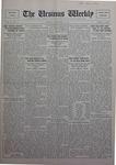 The Ursinus Weekly, November 21, 1927