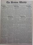 The Ursinus Weekly, November 28, 1927 by Charles H. Engle and George Leslie Omwake