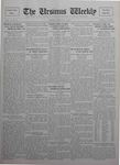 The Ursinus Weekly, March 26, 1928 by Charles H. Engle and George Leslie Omwake