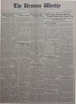 The Ursinus Weekly, September 27, 1926