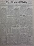 The Ursinus Weekly, October 11, 1926