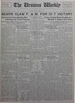 The Ursinus Weekly, October 18, 1926