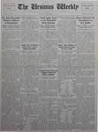 The Ursinus Weekly, October 25, 1926