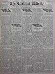 The Ursinus Weekly, November 1, 1926