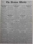 The Ursinus Weekly, November 8, 1926