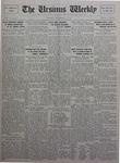 The Ursinus Weekly, November 15, 1926