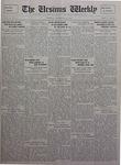The Ursinus Weekly, November 29, 1926