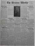 The Ursinus Weekly, February 7, 1927