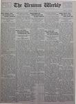 The Ursinus Weekly, February 21, 1927