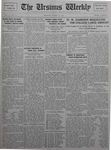 The Ursinus Weekly, March 14, 1927