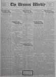The Ursinus Weekly, May 23, 1927