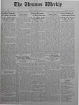 The Ursinus Weekly, September 21, 1925