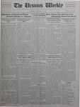 The Ursinus Weekly, September 28, 1925