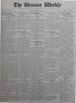 The Ursinus Weekly, October 12, 1925