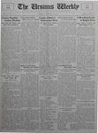 The Ursinus Weekly, October 19, 1925