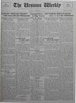The Ursinus Weekly, November 2, 1925