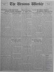The Ursinus Weekly, November 16, 1925