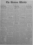 The Ursinus Weekly, November 23, 1925