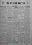 The Ursinus Weekly, December 14, 1925