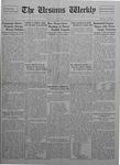 The Ursinus Weekly, January 11, 1926