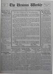 The Ursinus Weekly, January 18, 1926