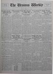 The Ursinus Weekly, February 22, 1926