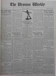 The Ursinus Weekly, March 29, 1926